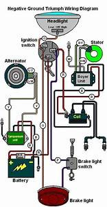 Wiring Diagram For Triumph  Bsa With Boyer Ignition  With