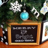 christmas tree stand cover  frames    style
