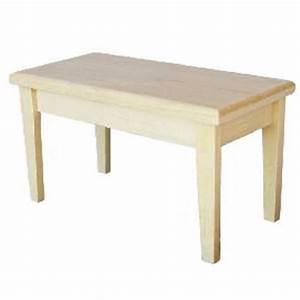 Petite Table En Bois : petite table en bois brut ~ Teatrodelosmanantiales.com Idées de Décoration