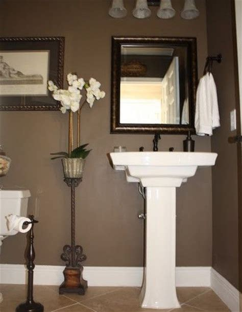 powder room with pedestal sink decorating ideas i like this pedestal sink alot powder room design Powder Room With Pedestal Sink Decorating Ideas