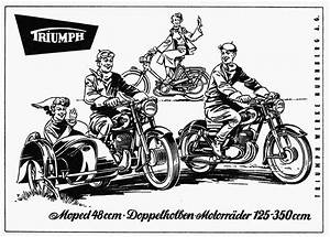 TRIUMPHTWN 1949 TO 1958 Bernies Bike Shed