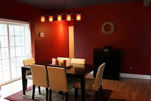 12 red and green dining rooms for the holidays and beyond With dining room red paint ideas