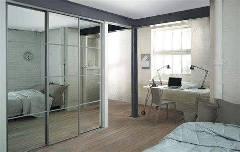 silver framed sliding wardrobe doors