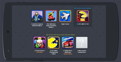 surprise humble mobile bundle   pac attack  bandai