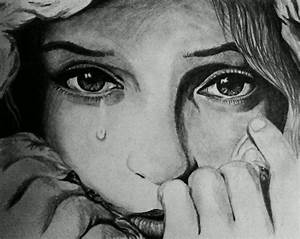 Sad Faces Of People Drawings - Drawing Of Pencil