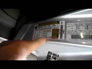 Toyota Corolla 2011 Maintenance Required Light Reset How To Reset A Toyota Prius Tire Pressure Warning Light