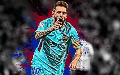 Messi Lionel 4k Football Barcelona Fc Player