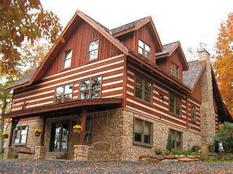 Custom Home Addition by Log Home Builder Lehigh Valley Poconos Pa Log Home