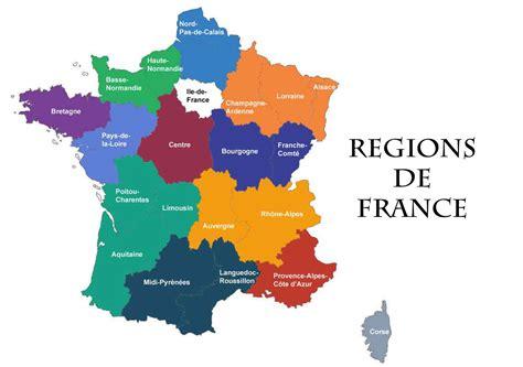 Nouvelle Carte De Region Et Departement by Nouvelles R 233 Gions De Voyages Cartes