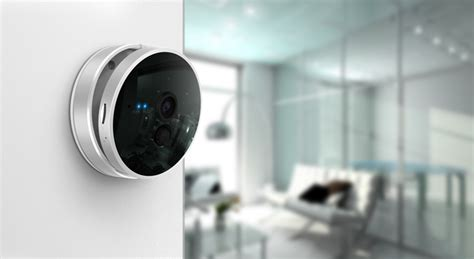 Smart Hd Home Camera With Thermometer And Pir Motion