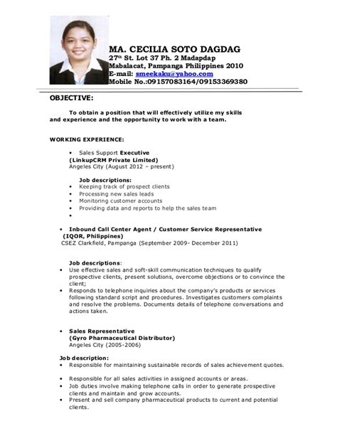 sle resume call center no experience call center resume with experience bestsellerbookdb