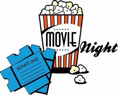 Theater Clipart Watching Sitting Movies Night Clipartion
