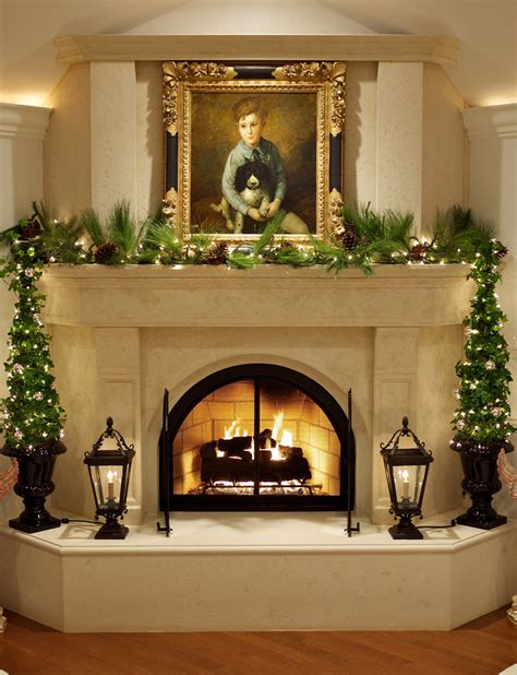 elegant fireplace christmas decorating ideas pictures of awesome decorations