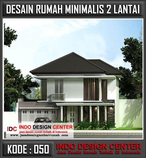jasa arsitek desain rumah minimalis  lantai  bandung