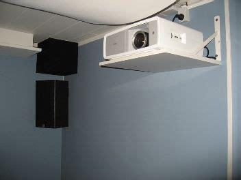 projector shelf ideas diy projector projector shelf