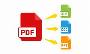 Convert Pdf Into Word  Excel   Text Or Any Thing By
