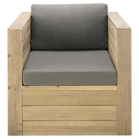 chambre bébé grise fauteuil de jardin en bois gris brehat maisons du monde
