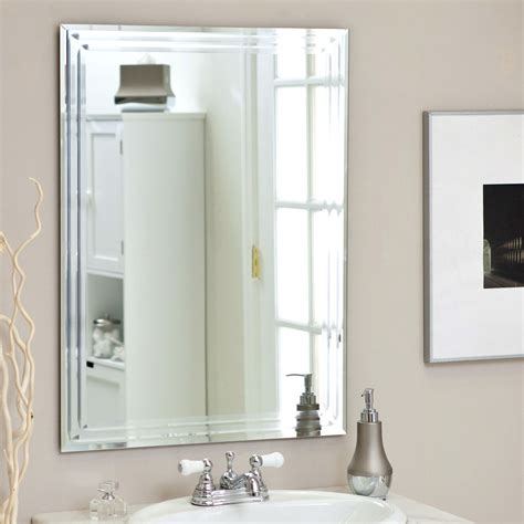 Contemporary Vanity Mirror by Rectangular 31 5 Inch Bathroom Vanity Wall Mirror With