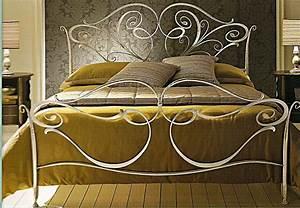 Tete De Lit En Fer Forgé : photo tete de lit fer forge 160 ~ Teatrodelosmanantiales.com Idées de Décoration