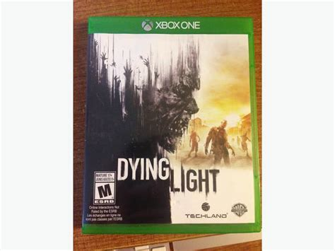 xbox one dying light dying light xbox one mint condition with manuals