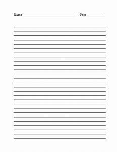 lined paper for writing activity shelter notebook With letter practice paper