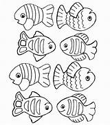 Fish Coloring Template Pages Drawing Creation Outline Printable Colouring Preschool Water Crafts Paintingvalley Theme Drawings Swimming Pool Getdrawings Getcolorings Starfish sketch template
