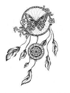 Coloriage Mandala Attrape Reve Beautiful Dessin Attrappe
