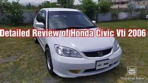 Detailed Review Of Honda Civic Vti
