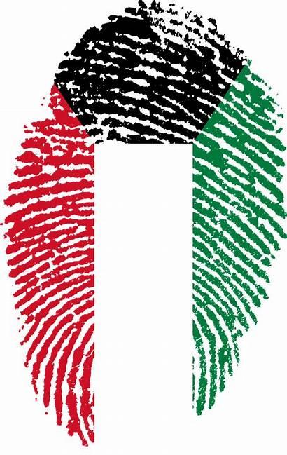 Kuwait Flag National Fingerprint Country Wallpapers Travel