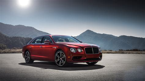 Bentley Continental Flying Spur V8 4k Wallpaper