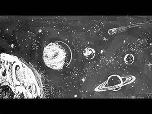 Pen and Ink Drawing Tutorials | How to draw outer space ...