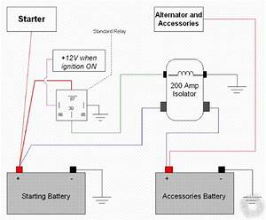 Battery Isolator Wiring
