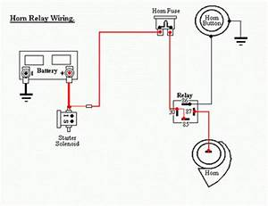 Horn Relay Wiring Diagram For Kia Pregio With Horn Button