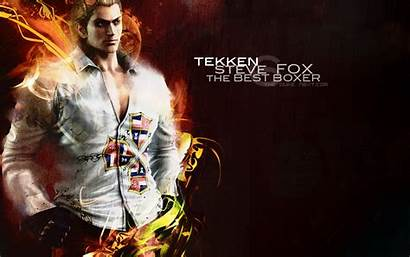 Tekken Steve Fox Wallpapers Desktop Paul Phoenix