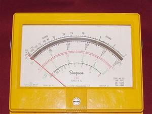 Simpson 260-8xi - Volt - Ohm