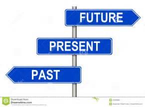 Past Present Future Signs