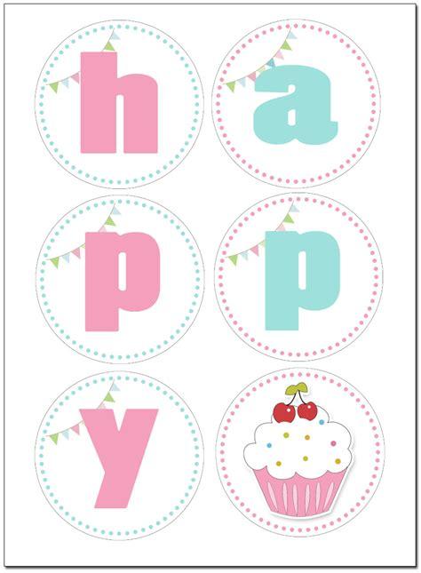 cupcake themed birthday party   printables