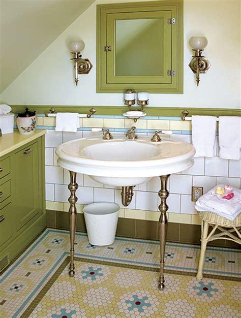 vintage bathrooms youd  lucky  inherit wit delight