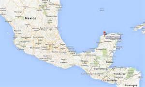 Map of Progreso Yucatan Mexico Cruise Port