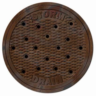 Storm Manhole Drain Sewer Clipart Sewerage Alcantarilla