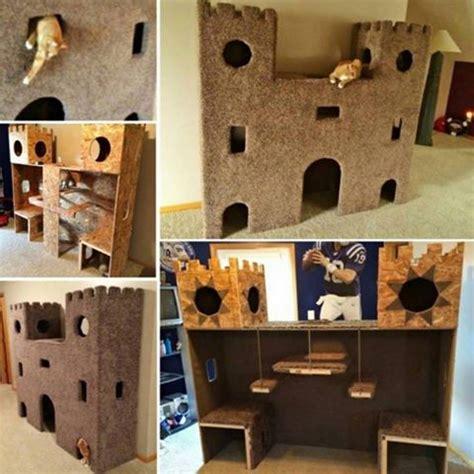 diy cat castle tutorial usefuldiycom