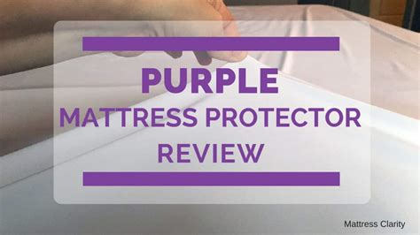 purple mattress protector review