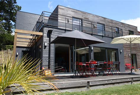 maison bois contemporaine en baie de somme c 244 t 233 baie