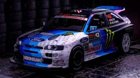 neo ford escort cosworth rally toy ken block autobloggr