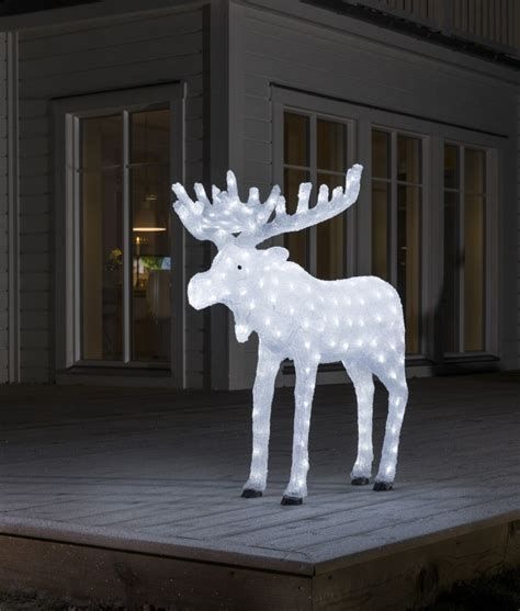 moose 60 inch lighted outdoor display led display moose for outdoor use