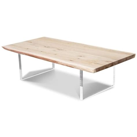 Free shipping on orders over $49! Live Edge Slab Bleached Solid Walnut Coffee Table - ModShop