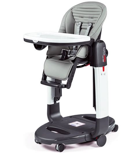 Peg Perego Tatamia High Chair by Peg Perego Tatamia 3 In 1 Highchair In Stripes Grey