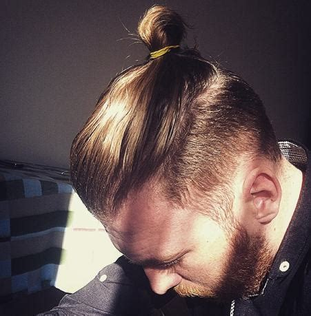 Man Bun Undercut Hairstyle Guide with Pictures   Man Bun