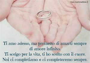 Frase Con Le Promesse Di Matrimonio Frasi Mammafelice