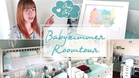Babyzimmer Roomtour 💙  Türkisweiß Für Jungs